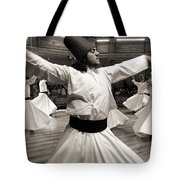 Whirling Dervishes Tote Bag