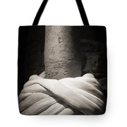 Whirling Dervishes Turban Black And White Tote Bag