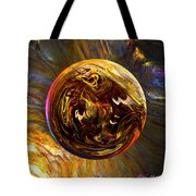 Whirling Wood  Tote Bag