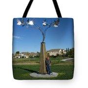 Whirlybird Tote Bag