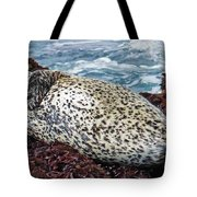 Whiskers And Spots Tote Bag