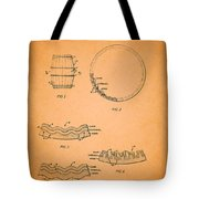 Whiskey Barrel Patent Tote Bag
