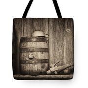 Whiskey Barrel Still Life Tote Bag