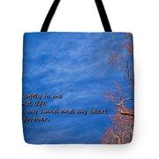 Whisper Softly Tote Bag