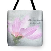 Whisper To Me With Verse Tote Bag
