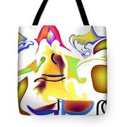 Whispered Visibility Tote Bag