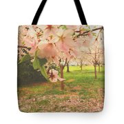 Whispering Cherry Blossoms Tote Bag
