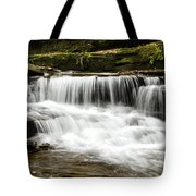Whispering Waterfall Landscape Tote Bag
