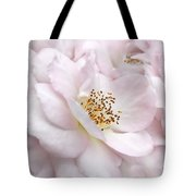 Whispers Of Pink Roses Tote Bag
