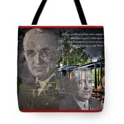 Whistle Stop Tour Tote Bag