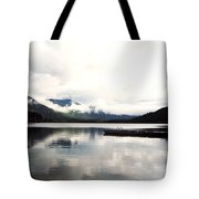 Whistler Lake Bc Tote Bag