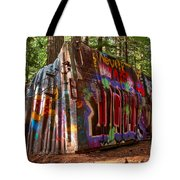 Whistler Train Wreck Tote Bag