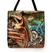 Whistler Train Wreck Stopping Point Tote Bag