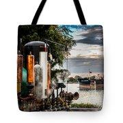 Whistles And Ship Tote Bag