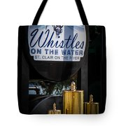 Whistles On The Water Tote Bag