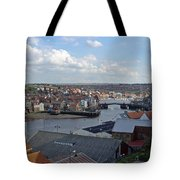 Whitby Rooftops Tote Bag