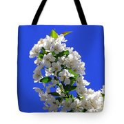 White And Wonderful Tote Bag by Elizabeth Dow