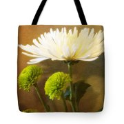 White Autumn Tote Bag