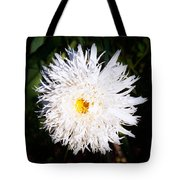 White Beauty Tote Bag