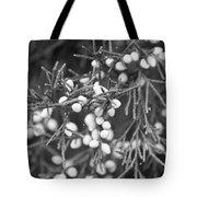 White Berries Tote Bag