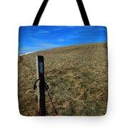 Appalachian Trail White Blaze Post Tote Bag