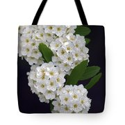 White Blossoms Tote Bag