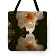 White Briar Rose Reflection Tote Bag