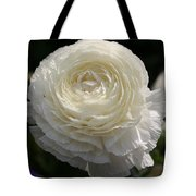 White Buttercup - Ranunculus Tote Bag