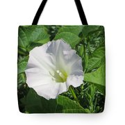 White Candour Tote Bag