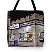 White Castle Tote Bag
