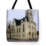 White Cathedral Tote Bag