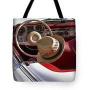 White Classic Mercedes Benz 230 Sl Tote Bag