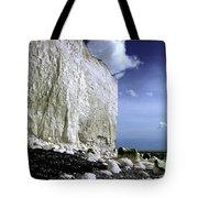 White Cliffs At Birling Gap Tote Bag