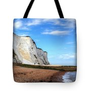 White Cliffs Of Dover Tote Bag