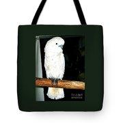 White Cockatiel-loreto Mx. Tote Bag