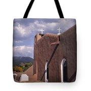 White Crosses At Taos Tote Bag