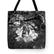 White Darkness Tote Bag