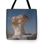 White Desert Tote Bag