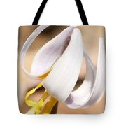 White Dog Tooth Violet Tote Bag