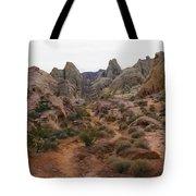 White Domes Trail Tote Bag