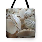 White Double Ark Shells Tote Bag