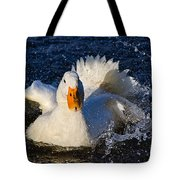 White Duck 1 Tote Bag
