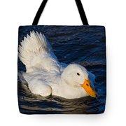 White Duck 2 Tote Bag