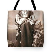 White Eagle Ponca Chief Tote Bag