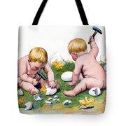 White Eggs Tote Bag