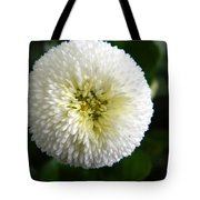 White English Daisy Tote Bag