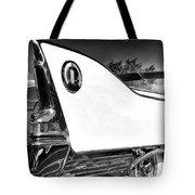 White Fin Bw Palm Springs Tote Bag