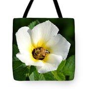 White Flower- Nectar Tote Bag