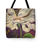 White Flower Series 6 Tote Bag