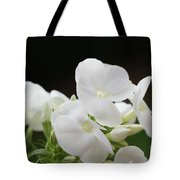 White Flowers 3 Tote Bag
